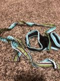 New tiny dog harness and leash. XS.