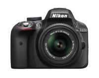 $450, NEW Nikon D3300 24.2 MP CMOS Digital SLR wAF-S DX NIKKOR 18-55mm f3.5-5.6G VR II Zoom Lens BLK