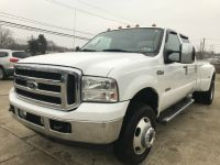2006 Ford Super Duty F-350 DRW DUALLY DIESEL POWERSTROKE 4X4 CREW CAB SOLID TRUCK