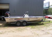 $3,450, 2007 Blue Wave Kenner 150hp Mercury Center Console