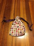small flowered bag