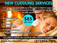 Become a Professional Female Cuddler $60HR  $TIPS