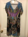 Cute stretchy dress. Size large.