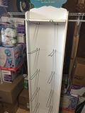 Double sided turn table rack pick up