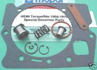 Purchase Torqueflite: Hemi 426 Governor Special Parts KIT: Inner, Outer Weights, Gaskets motorcycle in Marysville, Washington, United States, for US $55.55