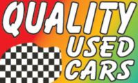 Sell Quality Used Cars Flag Sign 3' X 5' Car Dealer Advertising Banner bx* motorcycle in Castle Rock, Washington, US, for US $12.99