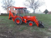 $2,000, reduced Kubota B20 Construction Tractor 4WD Diesel Hydrostatic Loader Backhoe