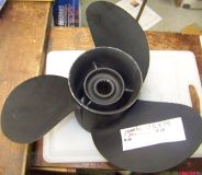 Find Used yamaha 3 blade stainless propeller 13 1/2 x 14 15 spline 4 hub motorcycle in Scottsville, Kentucky, United States, for US $136.99