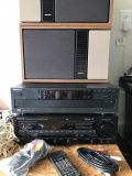 Kenwood CD/Reciever with Bose speakers