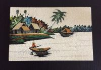 Authentic Japanese sand painting
