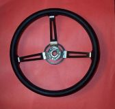 "Purchase JEEP STEERING WHEEL ""SOFT TOUCH"" BLACK > CJ WRANGLER, J-SERIES > OEM NOS motorcycle in Maumee, Ohio, United States"
