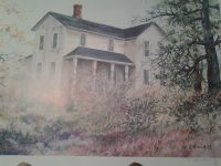 Water Color Prints Numbered & Signed By Pat Coffman Huss