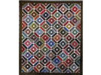 New Pieced Quilt Pattern ~ Rocky Mountain Summer ~ Shown