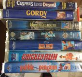 Several VHS for sale