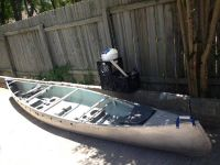 Alumacraft canoe for sale
