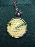 Poe s Annabelle glass necklace.new