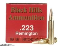 For Trade: Black Hills 69gr .223 Sierra MatchKing ammo