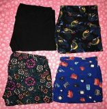 $65 Firm for 4 Brandnew pairs Lularoe leggings size TC 1 pair is sold black-Selling as lot only!!
