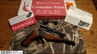 For Sale: Thompson Center Contender Pistol