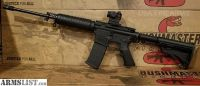 For Sale: Bushmaster AR 15 Rifle xm15 QRC with Red Dot AR15
