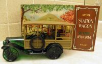 Avon Vintage 1973 Tai Winds After Shave Lotion in 1923 Station Wagon Decanter