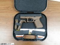 For Sale: Brown Glock 19 Trijicon night sights