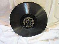 "antique jersey bounce fox trot polka 78 rpm record etched album 10"" double sided"