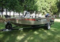 $2,570, 2007 Lowe 165 fMS Aluminiu Fishing Boat and Trailer