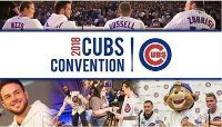 2018 Cubs Convention - 2 Tickets - 3 Day Pass!! - Sheraton Grand Chicago!!