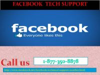 Acquire Facebook Tech Support 1-877-350-8878 to blacklist the FB scammers