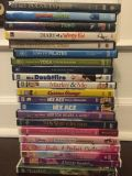 DVD's $3/each. Some NEW. Christmas, workout, Disney, Kids, Adults, etc. Gtown PPU