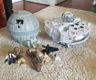 Death Star Micro Machines playset 1997 by galoob
