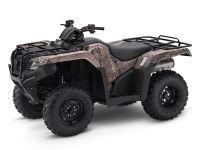 2017 Honda FourTrax Rancher 4x4 ES Utility ATVs Tampa, FL