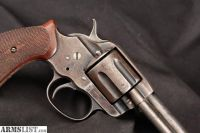 For Sale: Colt Rare Da Frontier Model Of 1878, Gunsmith Special, Blue 7 Double Action Revolver, MFD 1893 Antique .44-40 Win.