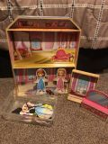 Sofia the first magnetic dolls