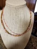 New multi-strand beaded necklace