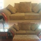 Love seat couch and automan
