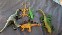 Lot of lizards and dinosaurs