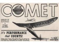 "Model Airplane Plans (FF): Vintage 1940 Comet SAILPLANE 78"""