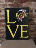 Wooden Maryland/Love sign