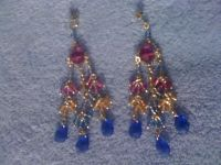 REDUCED!!!Hawaiian shores statement earrings
