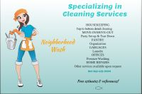 Valentines Day gift cards for a detailed home cleaning