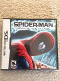 Nintendo DS Spiderman Edge of Time Game