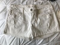 American Eagle distressed white shorts - Size 8