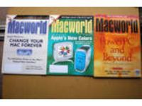 Apple vintage lot 3 MacWorld Magazines from 1994, 99