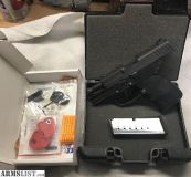 For Sale: Kel tec PF9 with parkerized black finish and 2 mags and extras