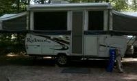 Sell 2007 Rockwood HW 256 pop up camper motorcycle in Pekin, Indiana, US, for US $8,750.00