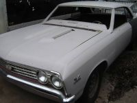 67 MALIBUCHEVELLE SS CLONE WITH BIG BLOCK PROJECT CAR
