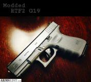 For Sale: Modded Glock RTF2 19 Gray