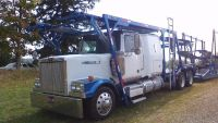 2006 Western Star 4900 10 Car Hauler  & 2012 Cottrell Trailer